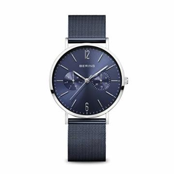 BERING Damen Analog Quarz Uhr mit Edelstahl Armband 14236-303 - 1