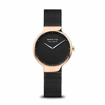 Bering Damen Analog Quarz Uhr mit Edelstahl Armband 15531-262 - 1
