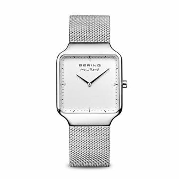 BERING Damen Analog Quarz Uhr mit Edelstahl Armband 15832-004 - 1