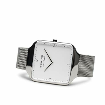 BERING Damen Analog Quarz Uhr mit Edelstahl Armband 15832-004 - 4
