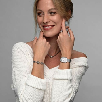 BERING Damen Analog Quarz Uhr mit Edelstahl Armband 15832-004 - 5