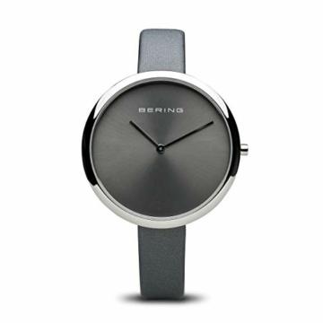 BERING Damen Analog Quarz Uhr mit Leder Armband 12240-609 - 1