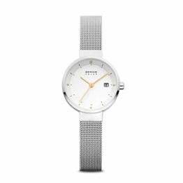 Bering Damen Analog Solar Uhr mit Edelstahl Armband 14426-001 - 1