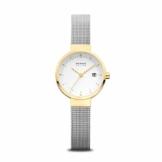 Bering Damen Analog Solar Uhr mit Edelstahl Armband 14426-010 - 1