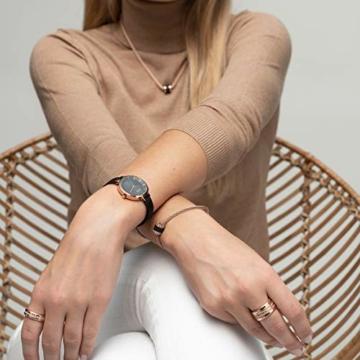 BERING Damen Analog Solar Uhr mit Edelstahl Armband 14631-166 - 6