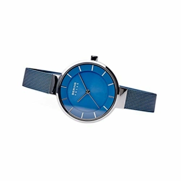 Bering Damen Analog Solar Uhr mit Edelstahl Armband 14631-307 - 5