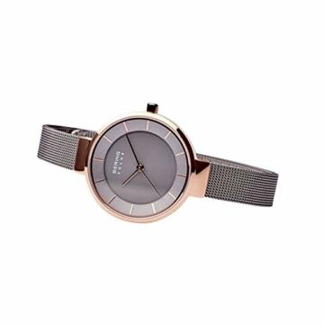 BERING Damen Analog Solar Uhr mit Edelstahl Armband 14631-369 - 5
