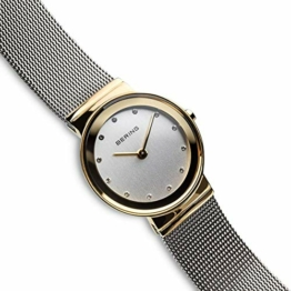 BERING Damen-Armbanduhr Analog Quarz Edelstahl 10126-001 - 1