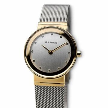 BERING Damen-Armbanduhr Analog Quarz Edelstahl 10126-001 - 3