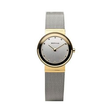 BERING Damen-Armbanduhr Analog Quarz Edelstahl 10126-001 - 4