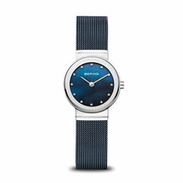 BERING Damen-Armbanduhr Analog Quarz Edelstahl 10126-307 - 1