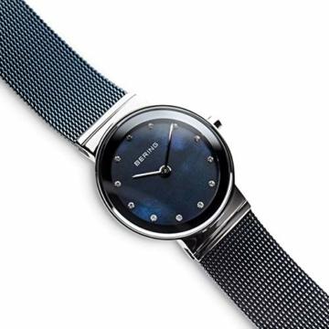 BERING Damen-Armbanduhr Analog Quarz Edelstahl 10126-307 - 3