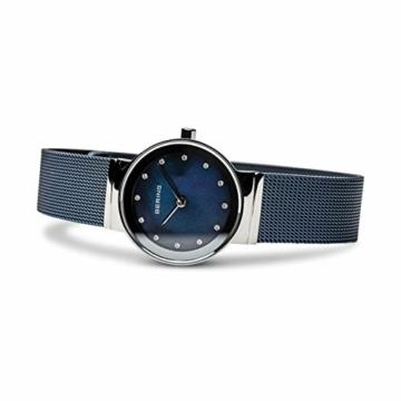 BERING Damen-Armbanduhr Analog Quarz Edelstahl 10126-307 - 4