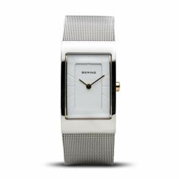BERING Damen-Armbanduhr Analog Quarz Edelstahl 10222-010-S - 1