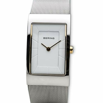 BERING Damen-Armbanduhr Analog Quarz Edelstahl 10222-010-S - 2