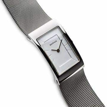 BERING Damen-Armbanduhr Analog Quarz Edelstahl 10222-010-S - 3