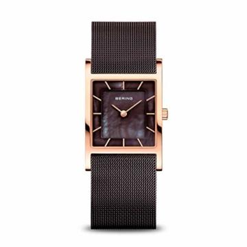 BERING Damen-Armbanduhr Analog Quarz Edelstahl 10426-265-S - 1
