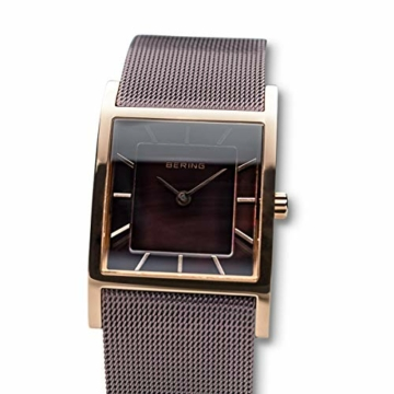 BERING Damen-Armbanduhr Analog Quarz Edelstahl 10426-265-S - 2