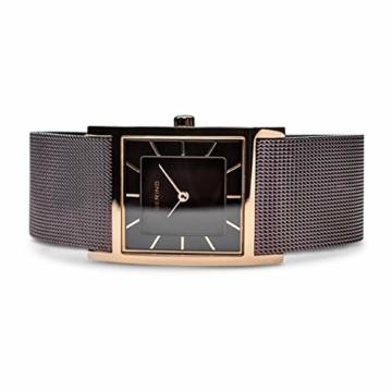 BERING Damen-Armbanduhr Analog Quarz Edelstahl 10426-265-S - 3