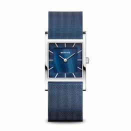 BERING Damen-Armbanduhr Analog Quarz Edelstahl 10426-307-S - 1
