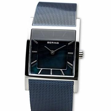 BERING Damen-Armbanduhr Analog Quarz Edelstahl 10426-307-S - 2