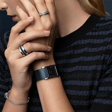 BERING Damen-Armbanduhr Analog Quarz Edelstahl 10426-307-S - 5