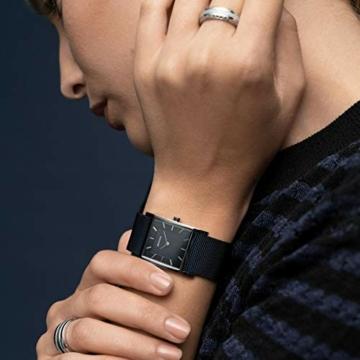 BERING Damen-Armbanduhr Analog Quarz Edelstahl 10426-307-S - 6