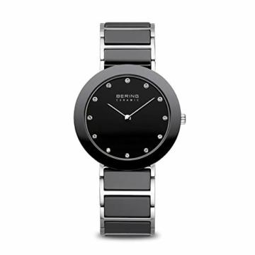BERING Damen-Armbanduhr Analog Quarz Edelstahl 11435-749 - 1