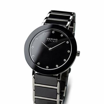 BERING Damen-Armbanduhr Analog Quarz Edelstahl 11435-749 - 2