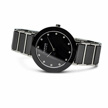BERING Damen-Armbanduhr Analog Quarz Edelstahl 11435-749 - 4