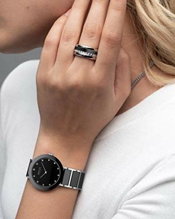 BERING Damen-Armbanduhr Analog Quarz Edelstahl 11435-749 - 5