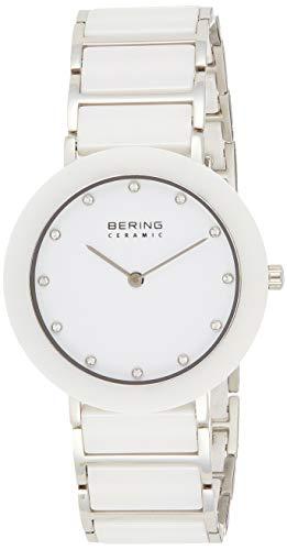 BERING Damen-Armbanduhr Analog Quarz Edelstahl 11435-754 - 1