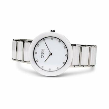 BERING Damen-Armbanduhr Analog Quarz Edelstahl 11435-754 - 4
