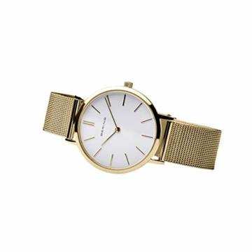 BERING Damen-Armbanduhr Analog Quarz Edelstahl 14134-331 - 3