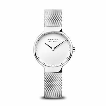 BERING Damen-Armbanduhr Analog Quarz Edelstahl 15531-004 - 1