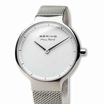 BERING Damen-Armbanduhr Analog Quarz Edelstahl 15531-004 - 2