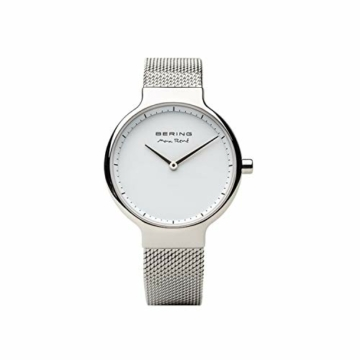 BERING Damen-Armbanduhr Analog Quarz Edelstahl 15531-004 - 4