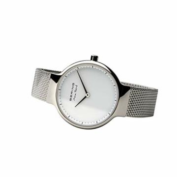BERING Damen-Armbanduhr Analog Quarz Edelstahl 15531-004 - 5