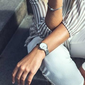 BERING Damen-Armbanduhr Analog Quarz Edelstahl 15531-004 - 6