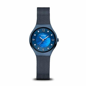BERING Damen-Armbanduhr Analog Solar Edelstahl 14427-393 - 1