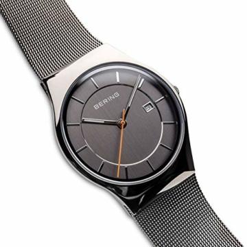 Bering Herren Analog Quarz Uhr mit Edelstahl Armband 11938-007 - 3