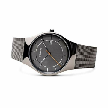 Bering Herren Analog Quarz Uhr mit Edelstahl Armband 11938-007 - 4