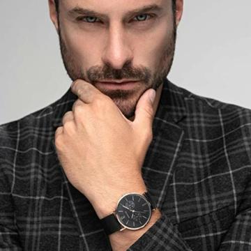 BERING Herren Analog Quarz Uhr mit Edelstahl Armband 14240-163 - 2
