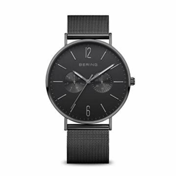 BERING Herren Analog Quarz Uhr mit Edelstahl Armband 14240-223 - 1