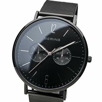 BERING Herren Analog Quarz Uhr mit Edelstahl Armband 14240-223 - 2