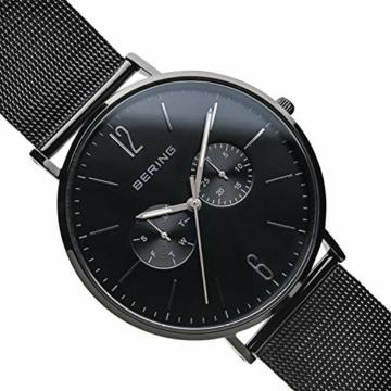 BERING Herren Analog Quarz Uhr mit Edelstahl Armband 14240-223 - 3