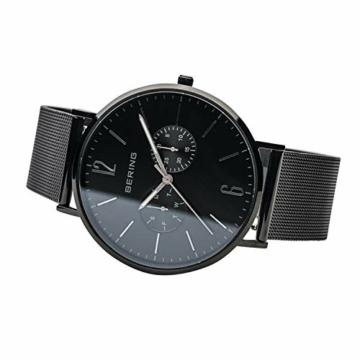 BERING Herren Analog Quarz Uhr mit Edelstahl Armband 14240-223 - 4