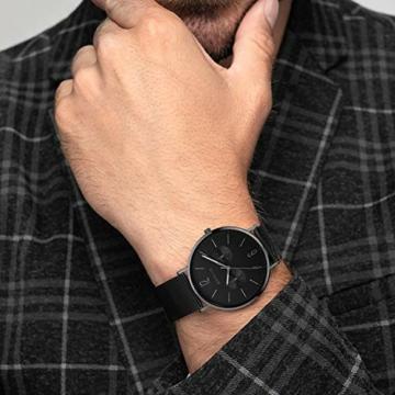 BERING Herren Analog Quarz Uhr mit Edelstahl Armband 14240-223 - 5