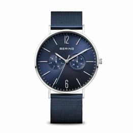 BERING Herren Analog Quarz Uhr mit Edelstahl Armband 14240-303 - 1