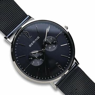 BERING Herren Analog Quarz Uhr mit Edelstahl Armband 14240-303 - 3